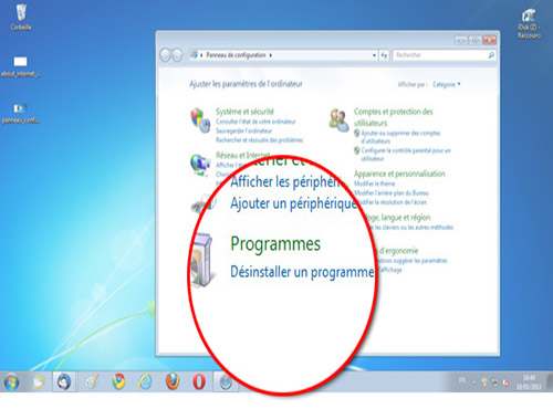 Désinstaller un programme sous Windows 10